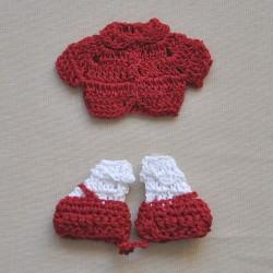 Magliettina e Scarpine Rosso