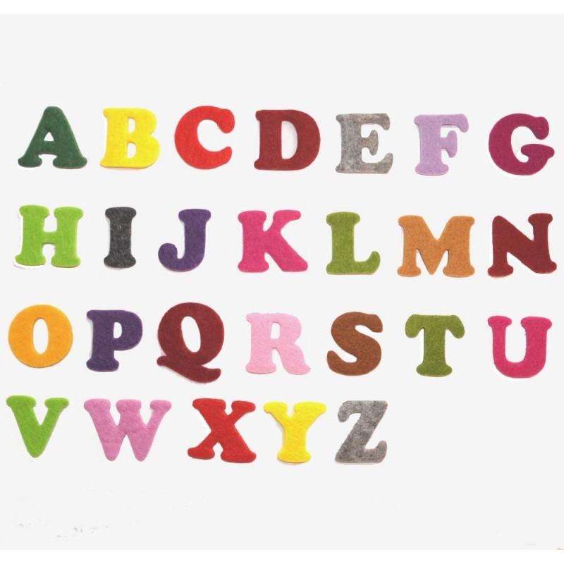 Lettere Cinesi Alfabeto: Lettere Dell' Alfabeto In Feltro
