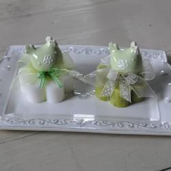 Sapone decorato con Gallinella verde
