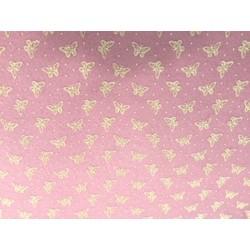 feltro rosa pastello farfalle