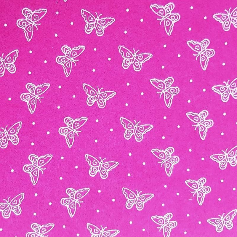 Fuxia Farfalle Panna