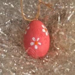 Uovo decorato in Ceramica