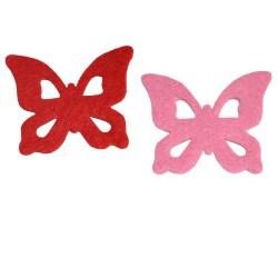 Farfalla con ritagli a goccia -SFE-10-F