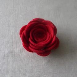 Rosa a Spirale G in Feltro