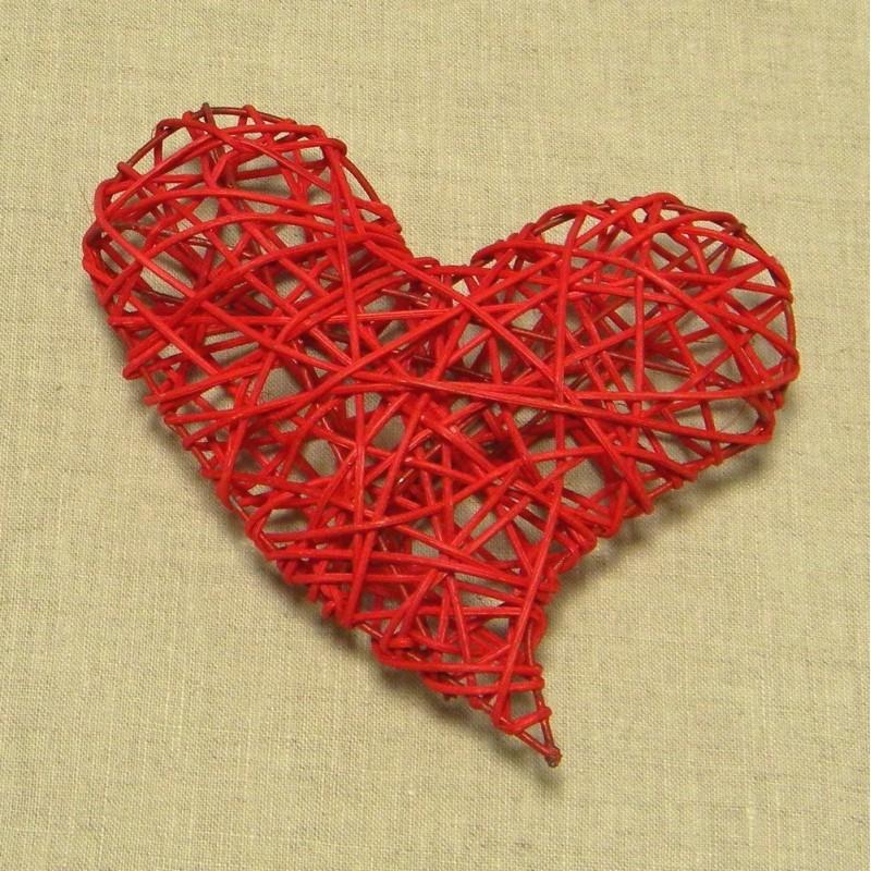 Cuori rossi per decorazioni DECLEG-CUO-R1